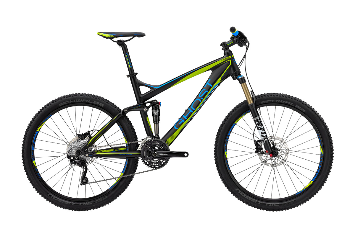 Ghost Bikes - Mountainbike Freisteller