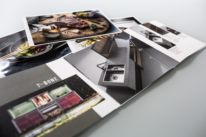 Kaufmann Green Grill Kitchen block Broschüre