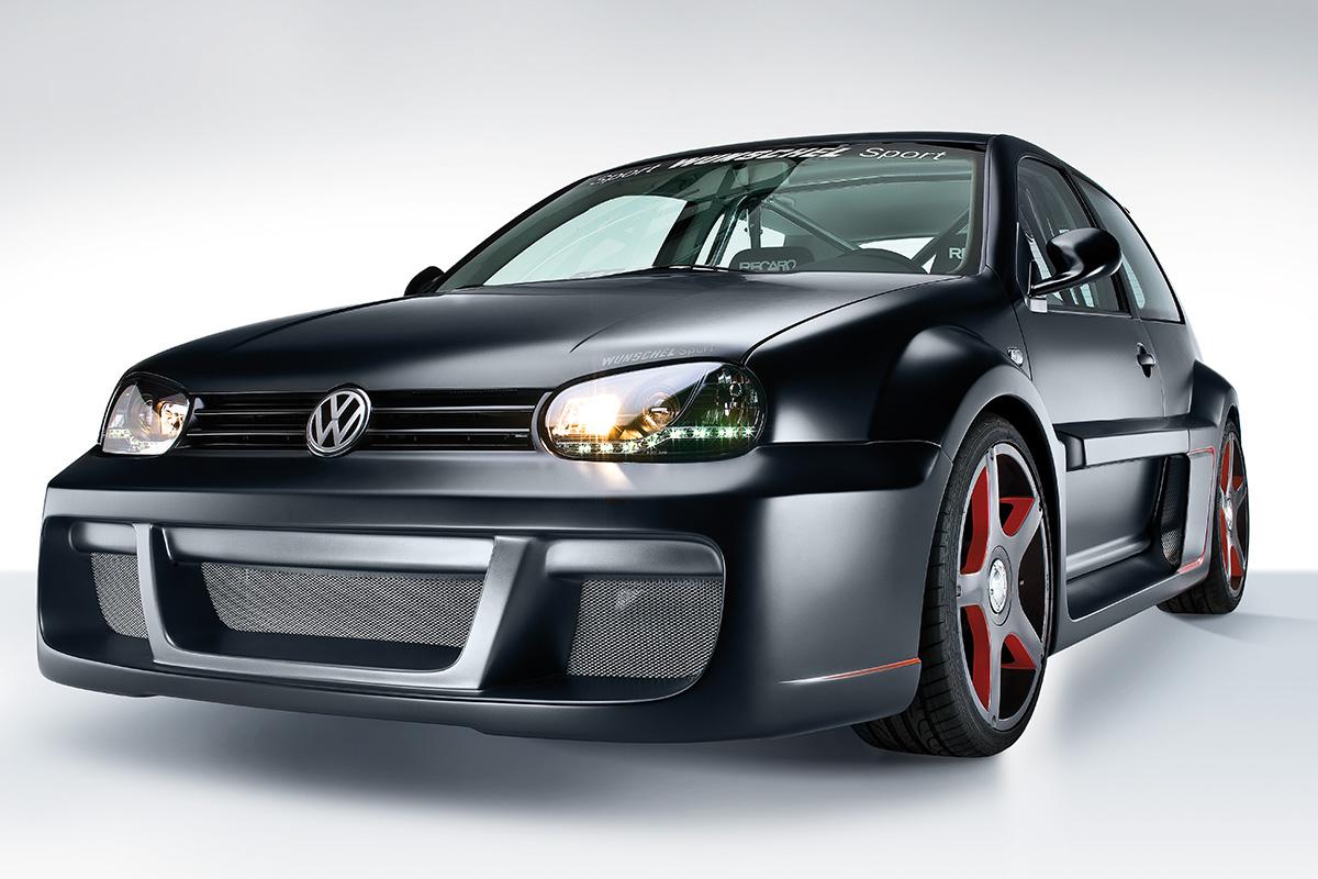 VW Golf Tuning Fahrzeugfotografie